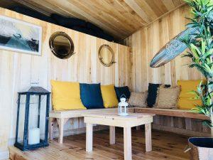 événements prives et professionnels - cabane perchee restaurant et bar de plage trouville-sur-mer